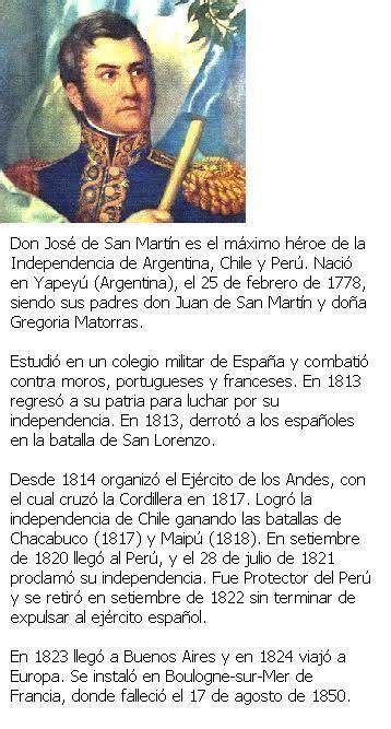 Biografía de San Martín - Taringa!