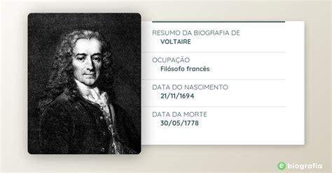 Biografia de Voltaire   eBiografia