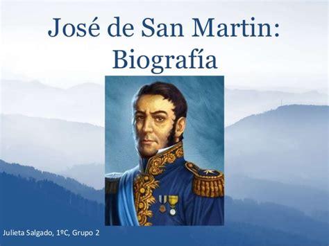 Biografia San Martin