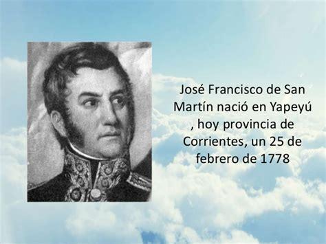 Biografia San Martin // Powerpoint