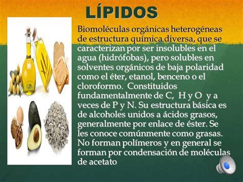 BIOMOLECULAS, biomoléculas organicas, principios ...