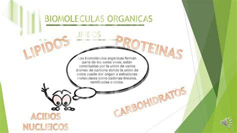 Biomoleculas Orgánicas (Carbohidratos,Lipidos,Proteinas ...