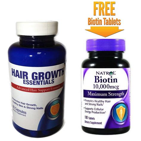 Biotin Hair Growth: Biotin Hair Growth Supplements Protein