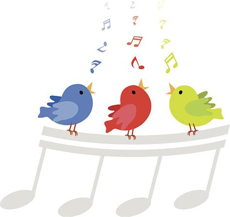 Birds Singing Clipart – 101 Clip Art