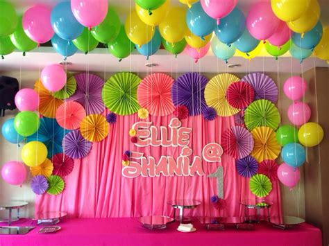 Birthday backdrop decorations | Birthday decoration ...
