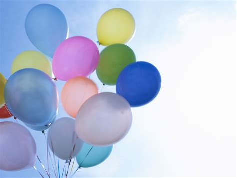 Birthday balloon backgrounds | Tops Wallpapers Gallery