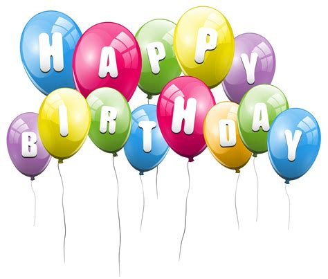 Birthday Balloon Png - ClipArt Best