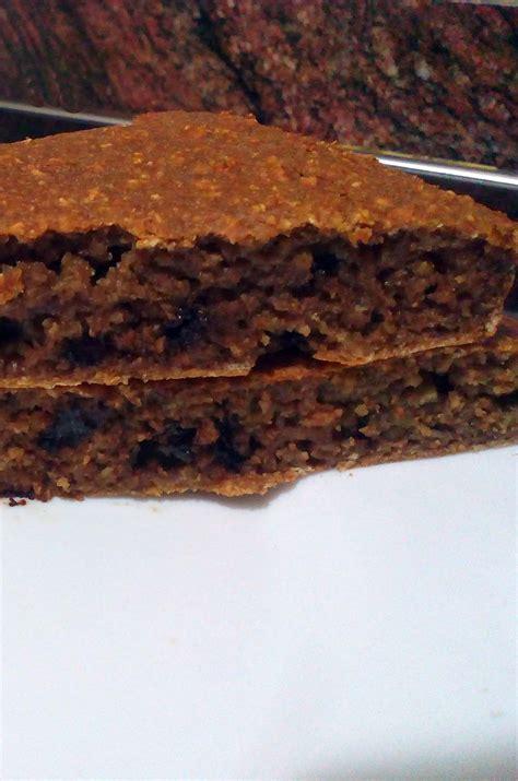 Bizcocho de avena y chocolate - Cocina Fitness