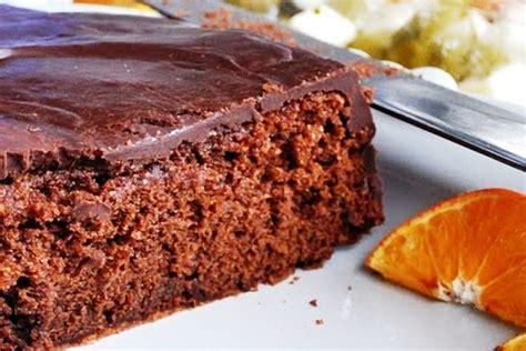 Bizcocho de chocolate a la mandarina ecológica - Entre ...