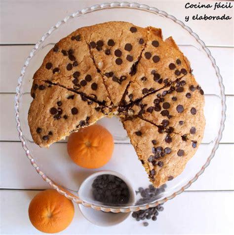 Bizcocho de Chocolate y Naranja   Postres Fáciles y Ricos