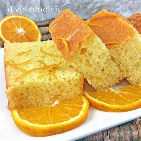 Bizcocho de naranja   Divina Cocina