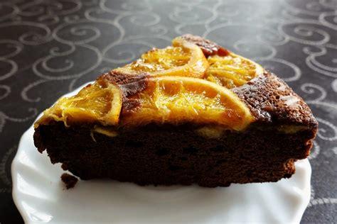 Bizcocho de naranja y chocolate - Desvania