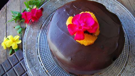 Bizcocho de naranja y chocolate esponjoso - YouTube