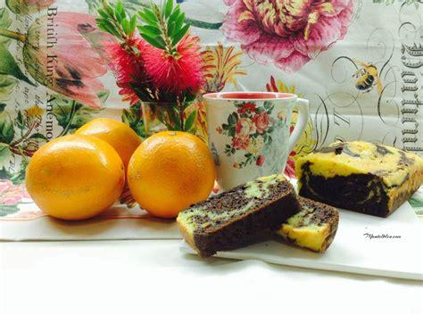 Bizcocho de naranja y chocolate   Mantelbleu