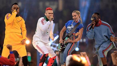Black Eyed Peas Cantó En La Final de La Champions League ...