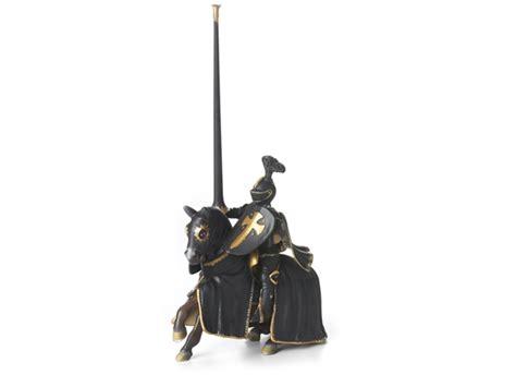 Black Knight on Horse