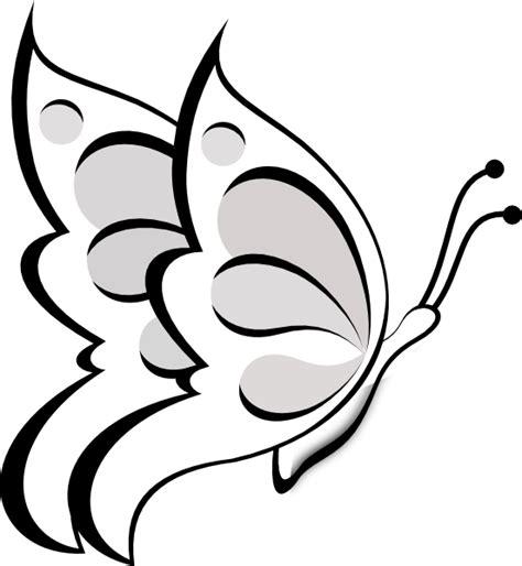 Blank Butterfly Clip Art at Clker.com - vector clip art ...