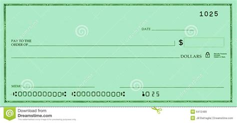 Blank Check With False Numbers Royalty Free Stock Images ...