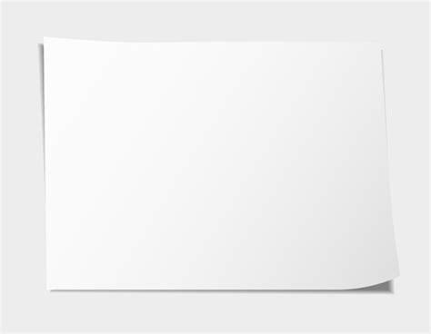 Blank Paper Sheet, Vectors - 365PSD.com