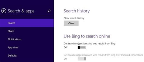 Block Bing Ads in Windows 8.1 Search: How to do it