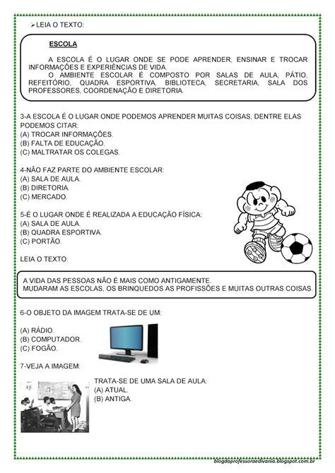 Blog da professora Edivania: AVALIAÇÃO DIAGNÓSTICA - 4º ...