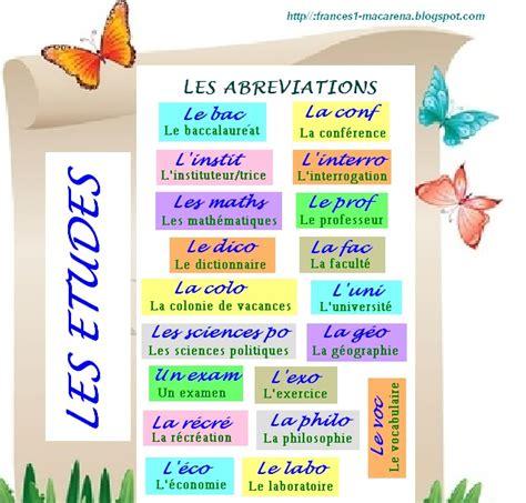 BLOG DE FRANCÉS DE LA E.S.O. (A1): Les abréviations dans ...