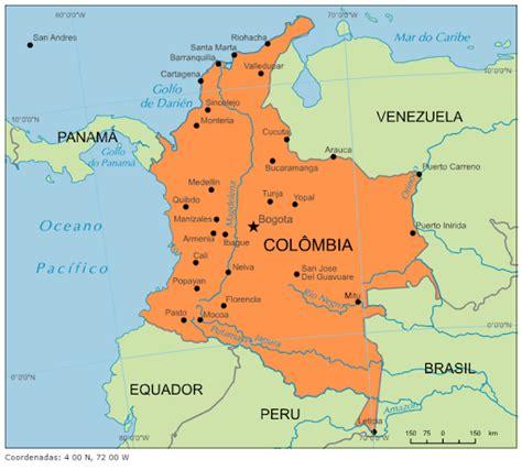Blog de Geografia: Colômbia