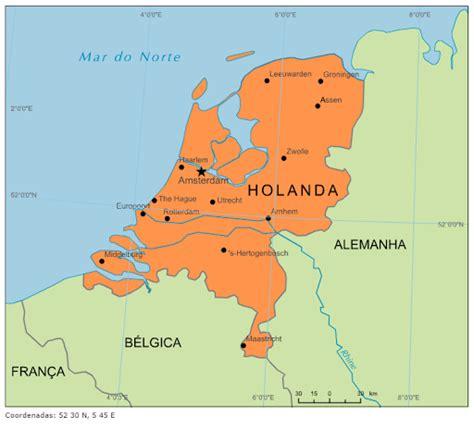 Blog de Geografia: Mapa da Holanda