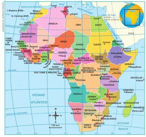 Blog de Geografia: Países da África e Suas Capitais