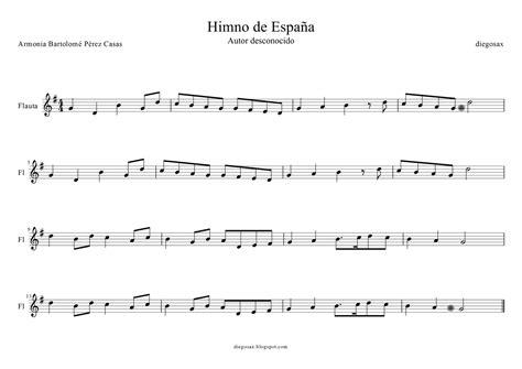 Blog de música. Los Minimozarts: Himno de España. Flauta ...