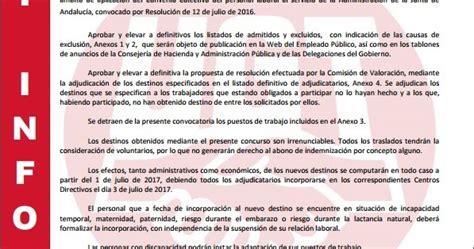 Blog de Salva Jiménez: Publicacion en Boja Concurso ...