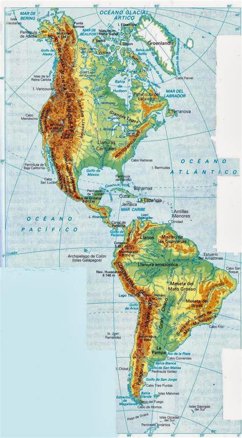 Blog de Sociales 1º ESO : RELIEVE DE AMÉRICA