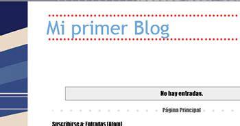 Blogger Como modificar tu plantilla | Iniciar sesion ...