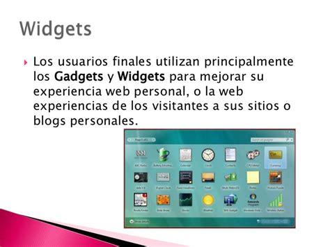 Blogger, Gadgets.