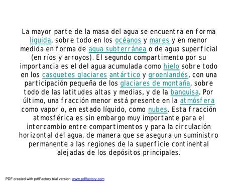 Bloque 2, tema 1.3, hidrosfera