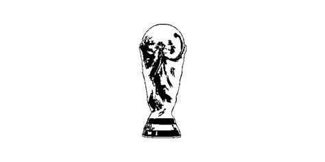 Bloques AutoCAD Gratis de copa del mundo de fútbol