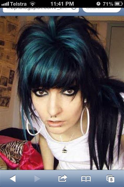 Blue black hair | Manic panic quality pics | Pinterest