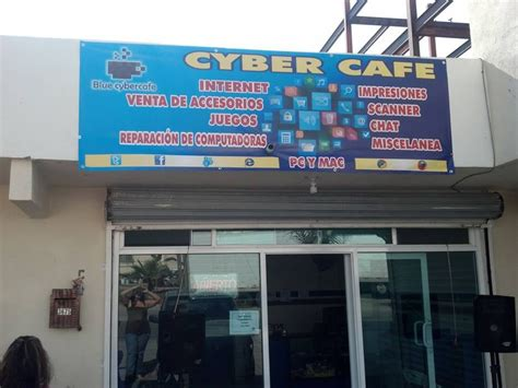 Blue Cyber Café   Internet Cafes   Paseo Playas de Tijuana ...