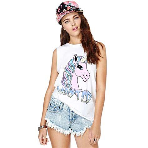 Blusas de vestir » Blusas unicornio 3