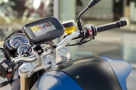 BMW Motorrad Handy Halterung   Motorblock
