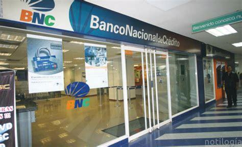 BNC Banco Nacional de Crédito Consulta Saldo En Línea