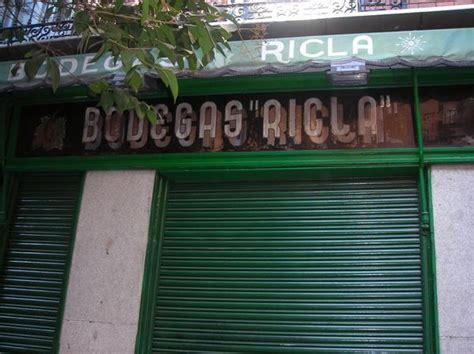 bodegas Ricla Madrid - Ricla