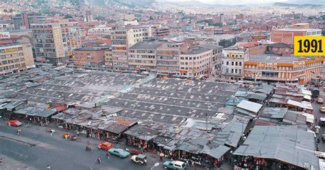 Bogotá: el deplorable estado de la plaza de San Victorino