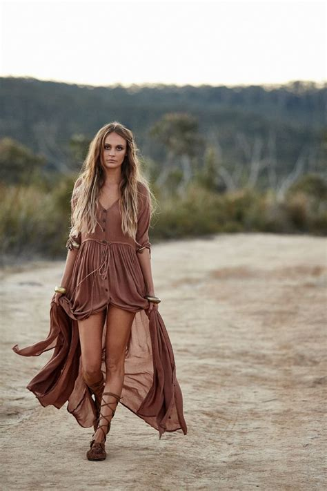 Bohemian clothes to become a boho style chic