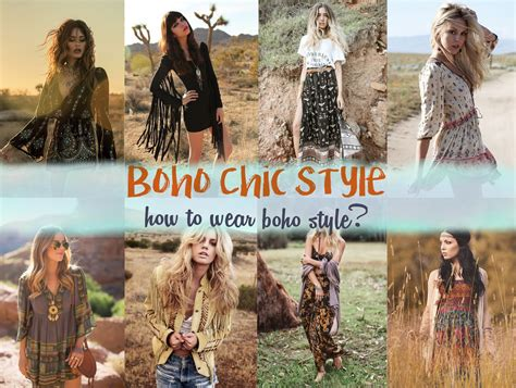 Boho Chic Style   How To Style & Wear Boho Outfit ...