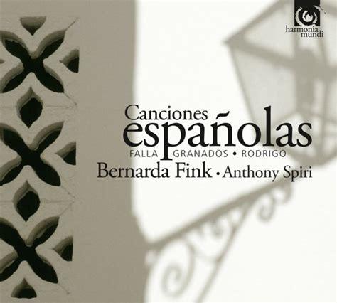 bol.com | Canciones Espanolas, Bernarda Fink, Granados ...