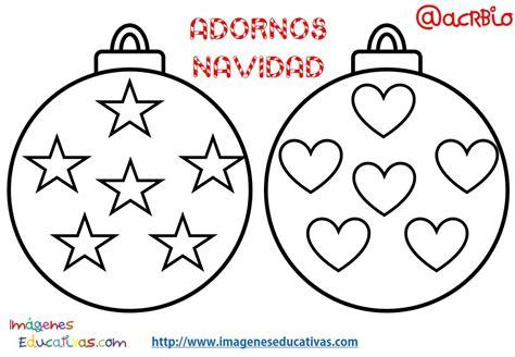Bolas de navidad colorear (2) - Imagenes Educativas