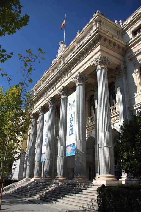 Bolsa de Madrid   Wikipedia, la enciclopedia libre