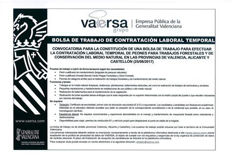 Bolsa de trabajo de contratación laboral temporal | Página ...