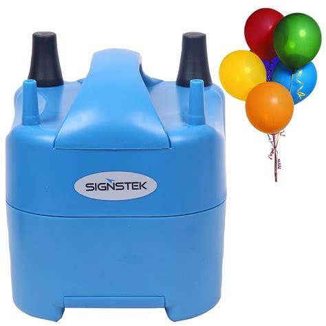Bomba Para Inflar Globos Portable Eléctrica Signstek Azul ...